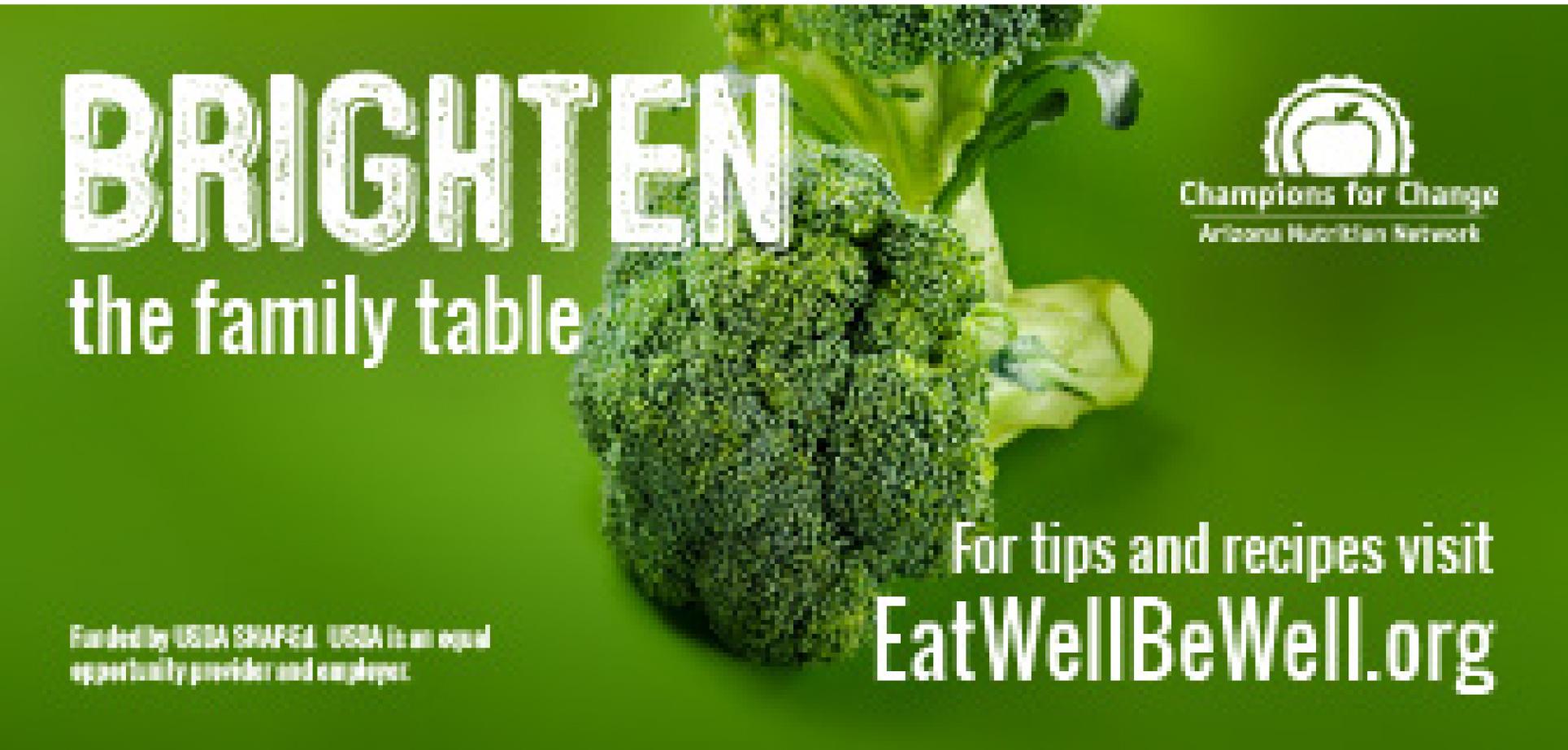 Brighten the Family Table -broccoli