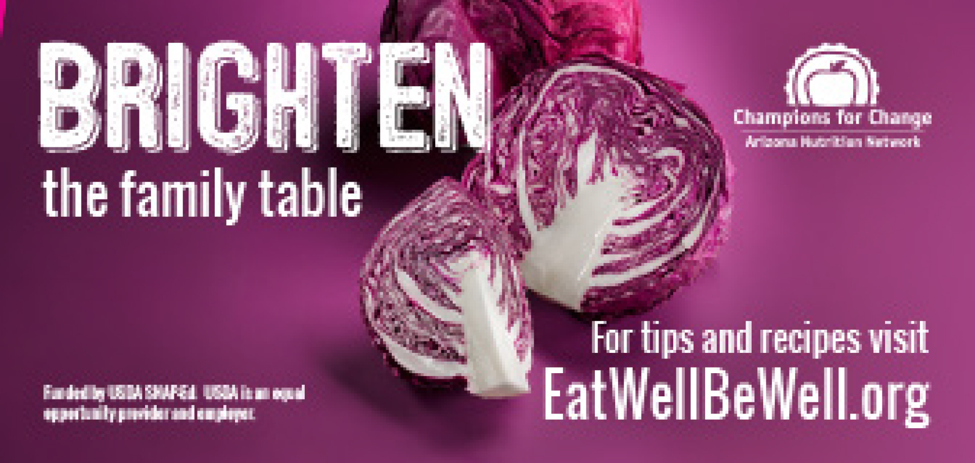 Brighten the Family Table - red cabbage